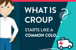 What is croup and how to treat it [infographic]