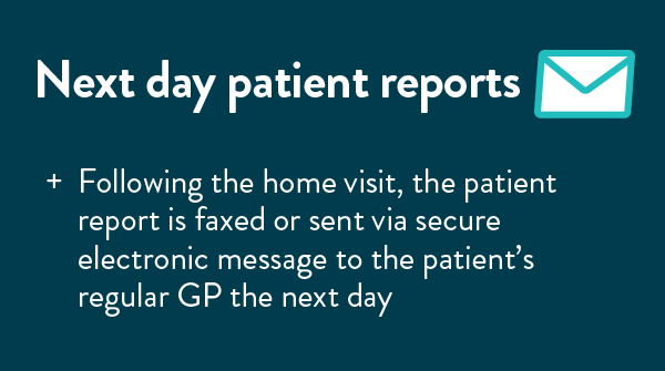 next day patient reports
