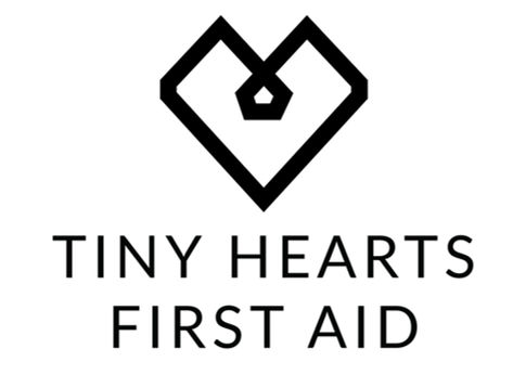 Tiny Hearts First Aid logo